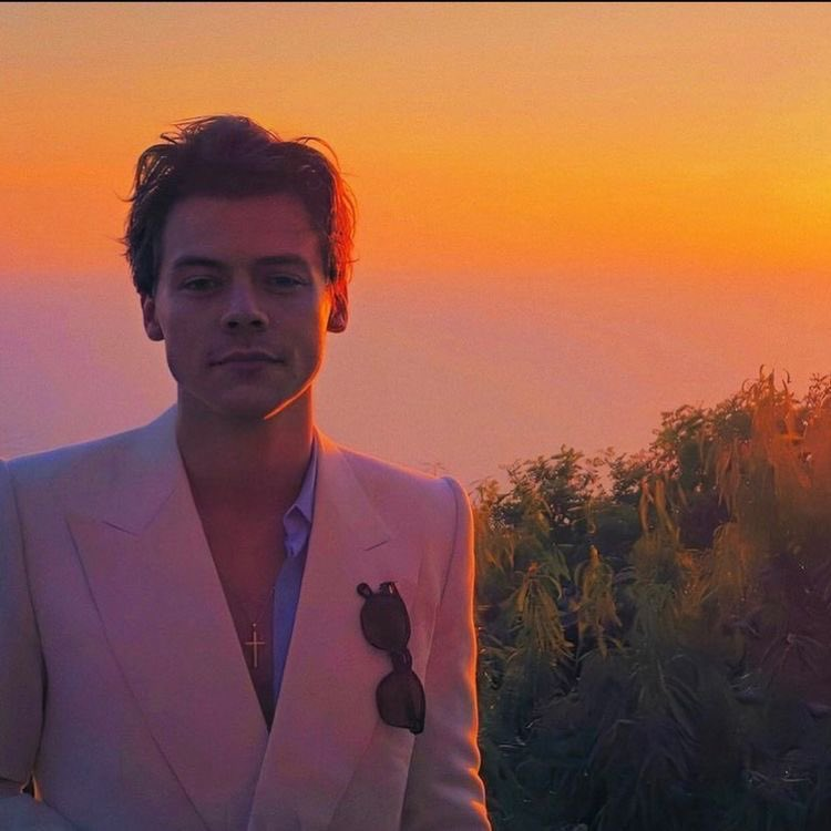 Harry Styles and sunsets.