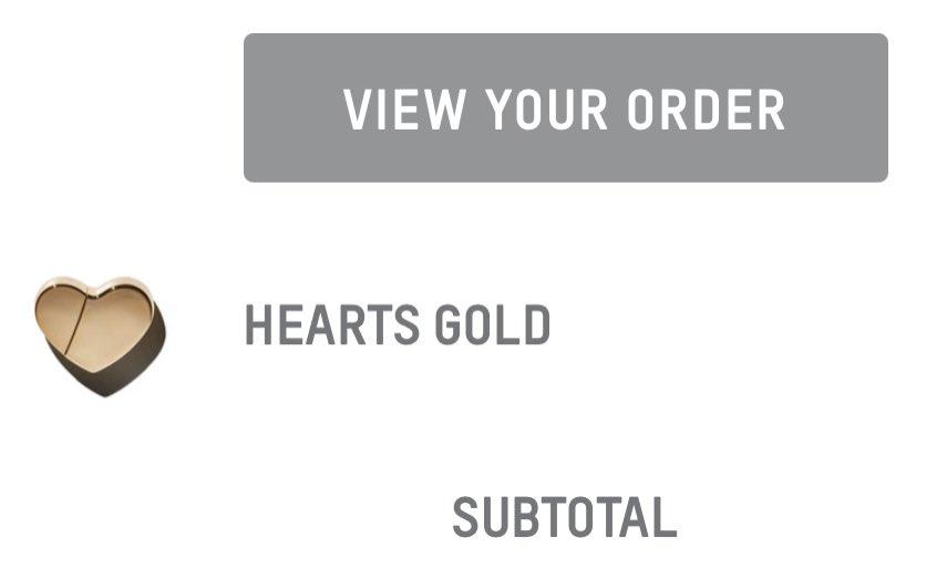 These @KKWFRAGRANCE metallic  heart fragrances look gorg😍 excited to try Hearts Gold 💛✨ @KimKardashian #KKWHearts