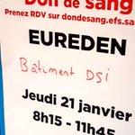 Image for the Tweet beginning: #Dondusang Comme régulièrement, les équipes