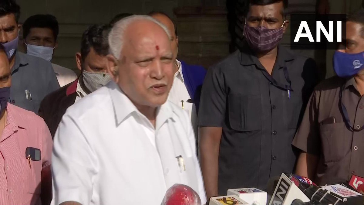 All the ministers are together and will attend the Cabinet meeting. There is no difference of opinion among the new ministers, all are happy: Karnataka Chief Minister BS Yediyurappa