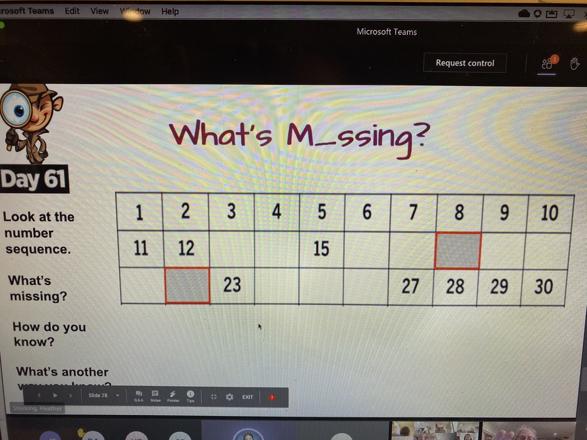 ATS 1st Grade STARS using number sense and reasoning to justify which numbers are missing! <a target='_blank' href='http://twitter.com/APSMath'>@APSMath</a> <a target='_blank' href='http://twitter.com/ATSAP_JGildea'>@ATSAP_JGildea</a> <a target='_blank' href='http://twitter.com/ats_pta'>@ats_pta</a> <a target='_blank' href='https://t.co/USrTBlSX3D'>https://t.co/USrTBlSX3D</a>