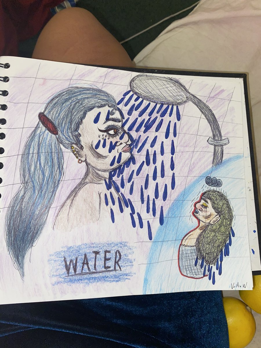 Drink more water, or you might die #art #Abstract #drawing #artistsontwitter #artwork #artwork