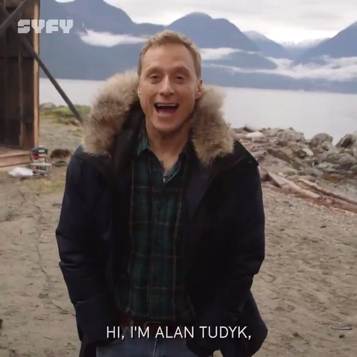 Need the scoop on #ResidentAlien? @AlanTudyk has your back. Or whatever aliens call it.  Go behind the scenes before our the premiere, Wednesday at 10/9c on @SYFY.