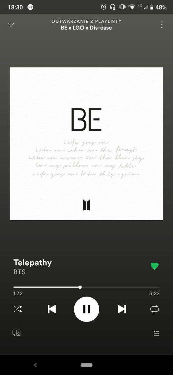 We remember about streaming #BTS_BE 💜 🎧 Telepathy ✨ @BTS_twt #BTS