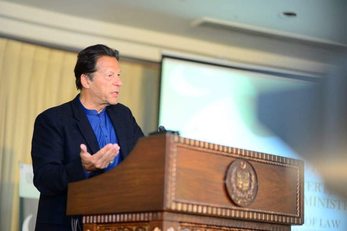 Prime Minister @ImranKhanPTI addressed the launching ceremony of Letters of Administration and Succession Certificates in Islamabad today.  #PMIK