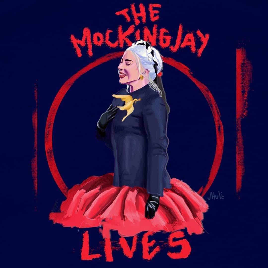 🇺🇸 #𝗕𝗶𝗱𝗲𝗻𝗜𝗻𝗮𝘂𝗴𝘂𝗿𝗮𝘁𝗶𝗼𝗻 🇺🇸  #Inauguration2021 #MonsterArt by Jhuli from Brazil!!   #Biden #JoeBiden #KamalaHarris #USA #InaugurationDay #MArtLG #LG6 #LadyGaga #LittleMonsters #drawing #art @ladygaga #Gaga #KindnessPunk #LOVE #Kindness