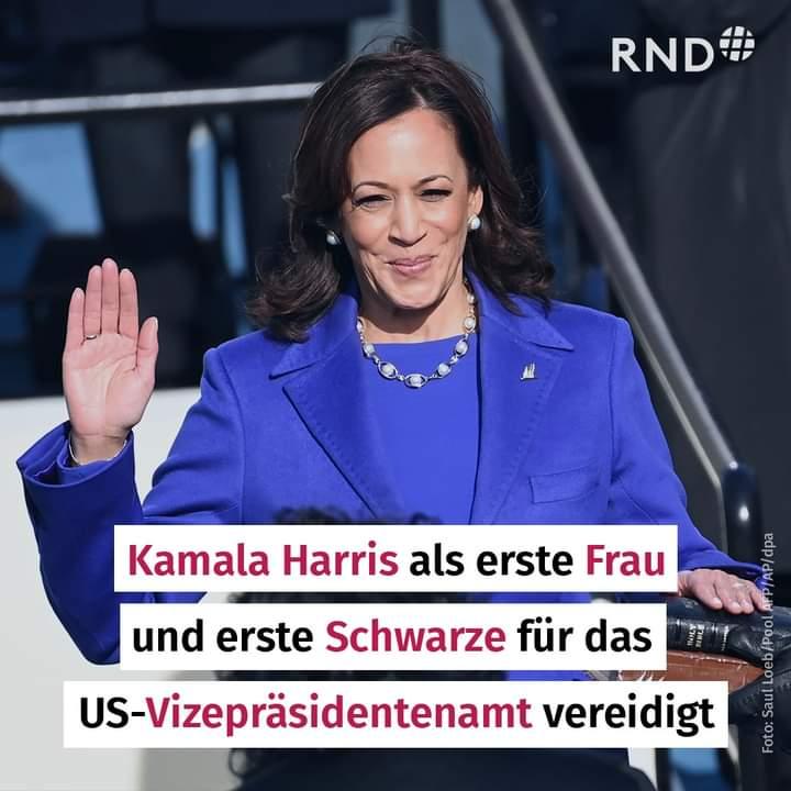 @VP Herzlichen Glückwunsch und viel Erfolg #KamalaHarris