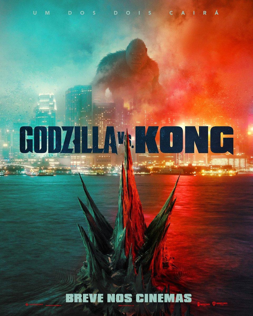 Godzilla Vs Kong Filme Ganha Novo Poster Primeiro Trailer Sera Lancado Neste Domingo Cinema Com Rapadura