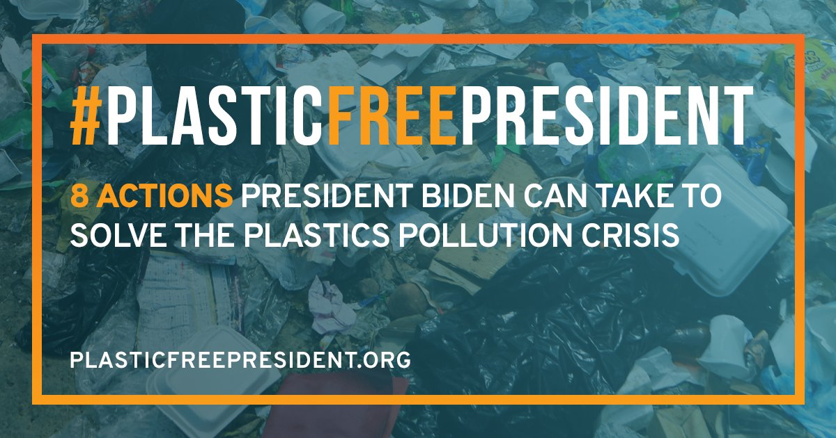 An interesting look at 8 priority #plastic actions @JoeBiden could take without #Congress. That said, not all of these are good ideas in our opinion because they do not address the root problems with #plasticwaste. What do you think?