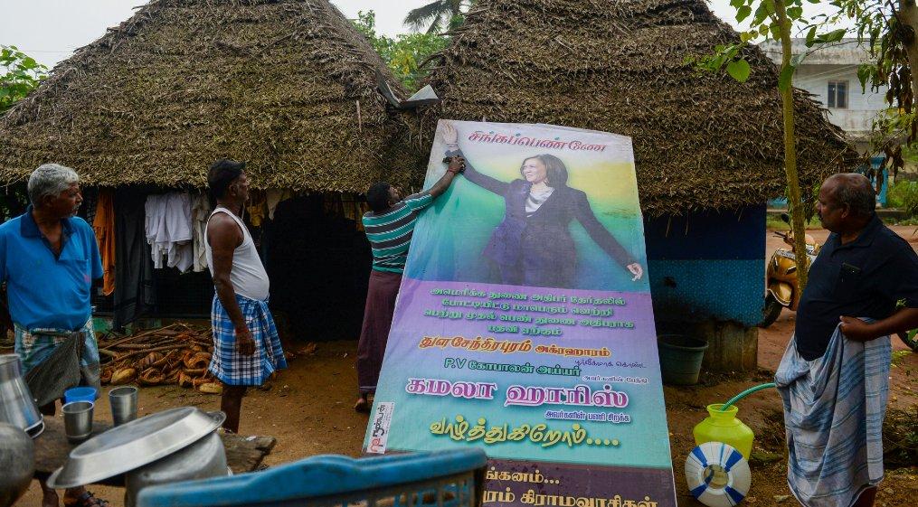 @VP Right from the Land of Gandhi, Madame Vice President #KamalaHarris
