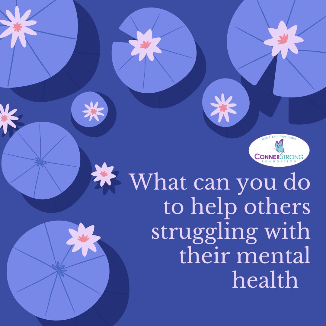 Too many remain silent and struggle alone. Talk about mental health issues with others or with someone that is struggling. Reduce the stigma and shine a light on wellbeing! #ConnerStrong #ConnerStrongFoundation #SuicidePrevention #DontEndYourStory #Donate