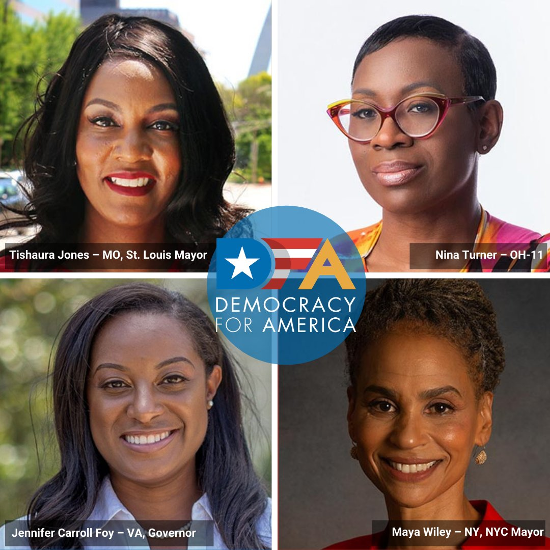 Yesterday was historic and largely made possible by the work of Black women. If you're feeling inspired by the progress we've made, make an investment in how far we can still go: @MayaWiley @NinaTurner @Tishaura @JCarrollFoy