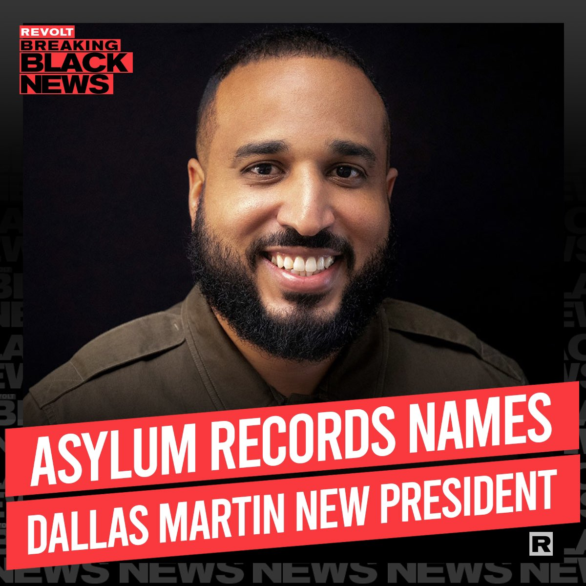Congratulations to one of rap's most prominent A&Rs of the past decade! Dallas Martin is now president of Asylum Records. #blackexcellence ✊🏿💪🏿👏🏿 @dallaslifestyle
