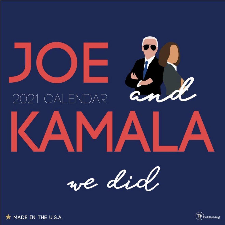 We did it, Joe. Shop Joe + Kamala Wall Calendar here:   #joebiden #kamalaharris
