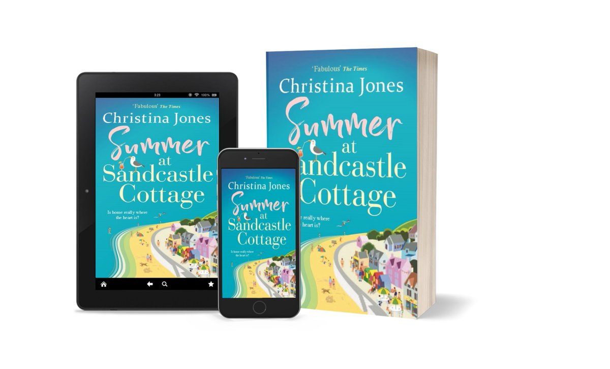 Attention #RomCom fans, #bookbloggers, #readingcommunity & #WritingCommunity! We are THRILLED to reveal the cover for our new novel from CHRISTINA JONES Preorder now: smarturl.it/SummeratSandca… Dont you just want to dive into that sea?! @ChristinaJ2021 #FollowFriday #CoverReveal