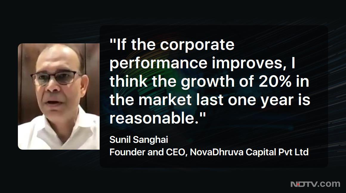 #LeftRightCentre | Sunil Sanghai, Founder and CEO, NovaDhruva Capital Pvt Ltd, on #market boom  #Sensex