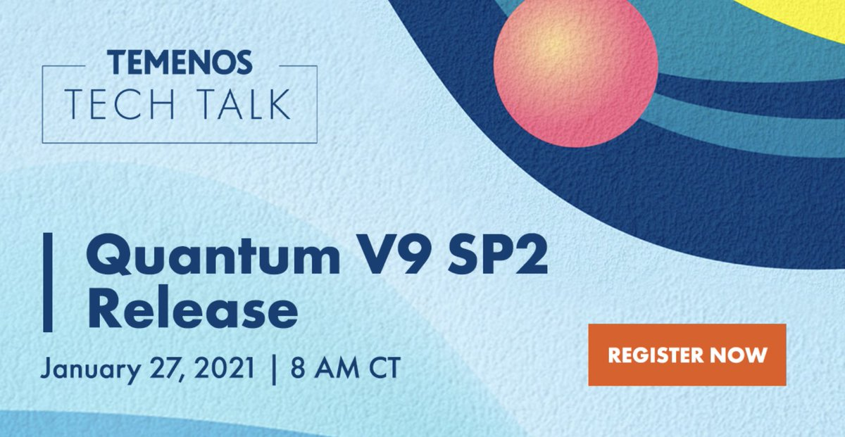 In our next Tech Talk, our experts will give an overview of the  #Temenos Quantum V9 update. Focus on consumer-grade #responsive web, true #native mobile experiences, modular & component-based architecture, &  #developer productivity. https://t.co/lcNDfCmvaO https://t.co/Mu1SjjN20j