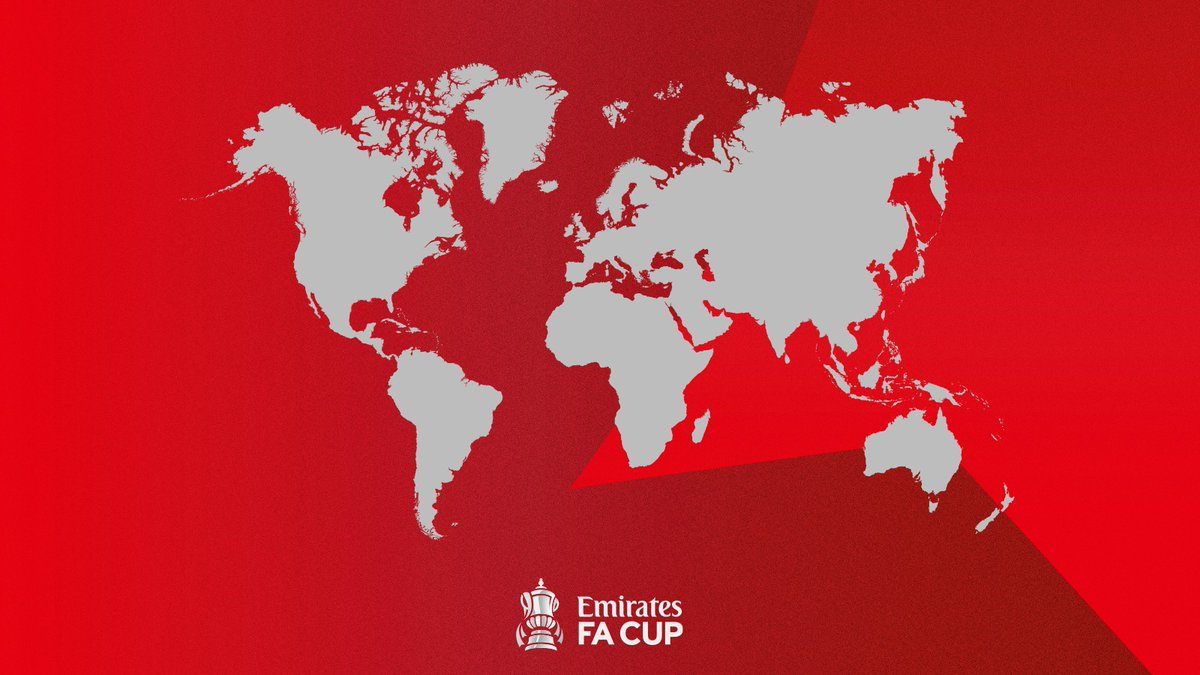 Where in the world are you watching the #EmiratesFACup fourth round from?  Drop a flag in the replies 👇🌎