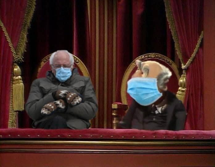 Feel the Bern! Doh ho ho ho ho ho hoh! #berniesmittens