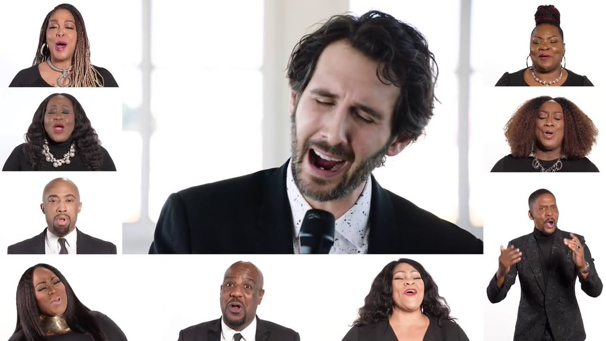 Watch @joshgroban perform #AmericaTheBeautiful with @DonaldLawrence and Co. for the @POTUS' Inaugural Prayer Service!  #DonaldLawrence #JoshGroban #Inauguration2021  Watch now: