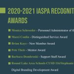 Image for the Tweet beginning: Congratulations to the 2020-21 @_IASPA_