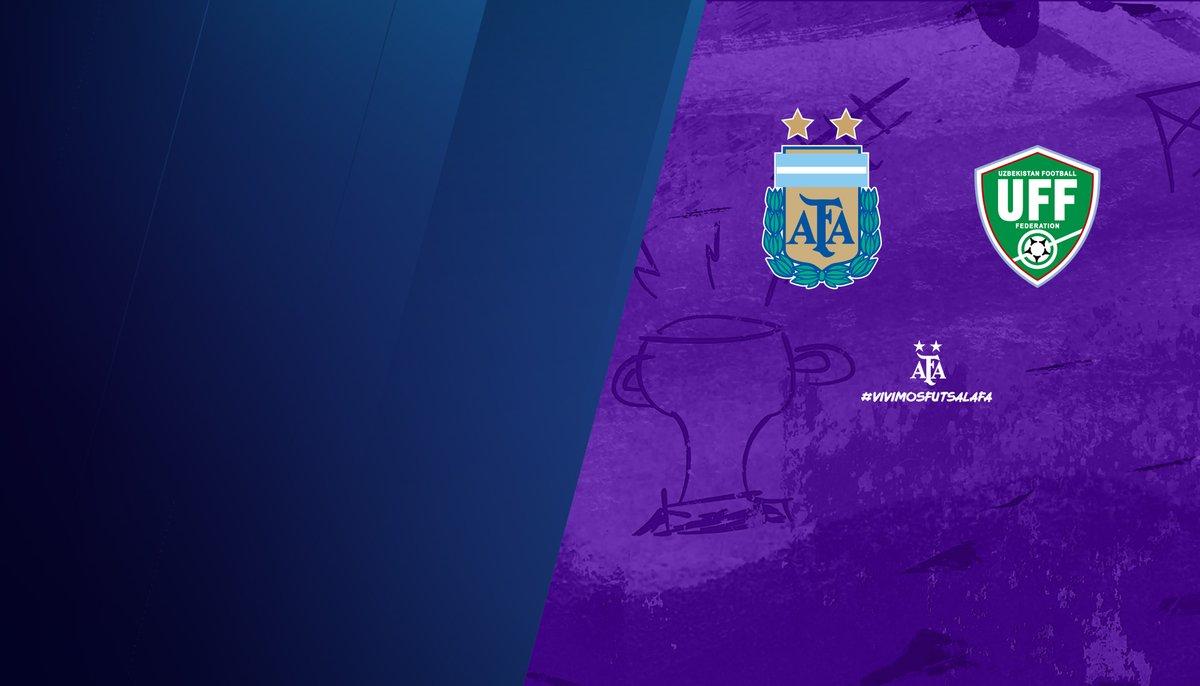 #Futsal La @Argentina jugará dos partidos con Uzbekistán  📝