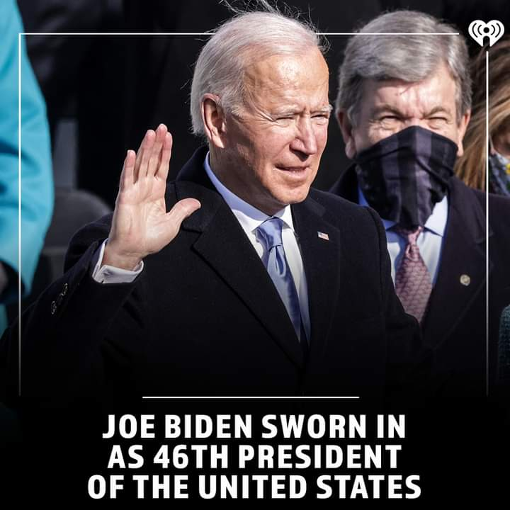 Leaders think and talk about the solutions. Followers think and talk about the problems. -Brian Tracy  Done watching US🇺🇲 President Joe Biden inauguration.  #AmericaOrTrump  #AfterTrump  #Americans  #JoeBiden  #JoeBidenInauguration