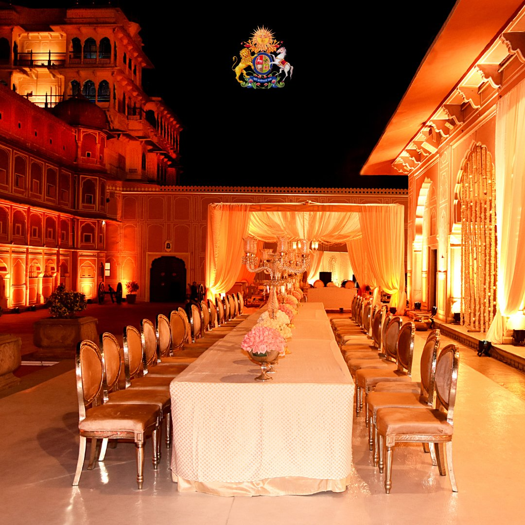#TheCityPalaceJaipur #JCPExperiences #RoyalFamilyofJaipur #RoyalFamilyJaipur #CityPalace #Weddings #Events #FilmShoots #PhotoShoots #Celebrations #BookNow #RoyalRajasthan #Jaipur #WeddingSeason #FestiveSeason #FineDining #ElegantSetting #TableDecor #GrandDinner #Gala #Rajasthan