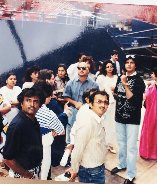 #JummaChummaInNY  #AmitabhBachchan #sridevi #rajinikanth #neelam #anupamkher   #ThrowbackThursday #muvyz #muvyz012121