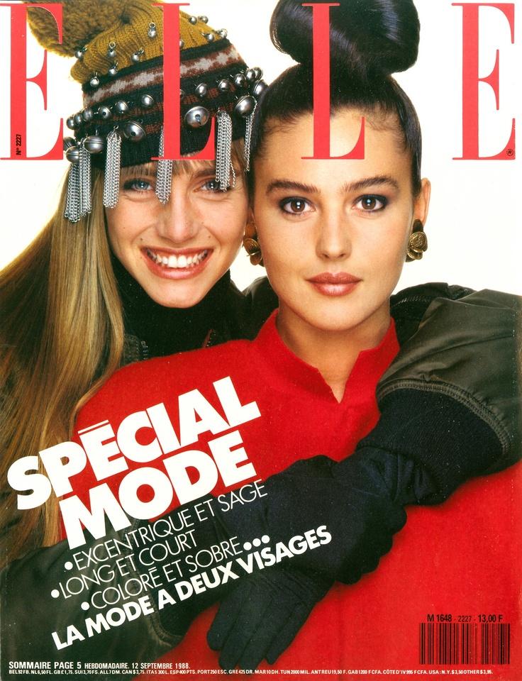 Μια αγκαλιά με τη Monica Bellucci θα την ήθελα!😂Και με τη Monica του 1988 και με τη Monica του 2021.😍😍😍 #παγκοσμια_μερα_αγκαλιας #MonicaBellucci #Elle #magazine #TBT #TBThursday #Throwback #ThrowbackThursday