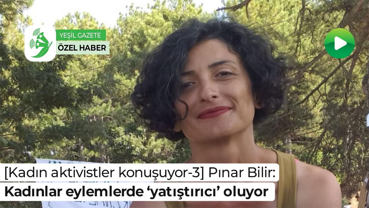 [Kadın aktivistler konuşuyor-3] Pınar Bilir: Kadınlar eylemlerde 'yatıştırıcı' oluyor  Ayrıntılar: https://t.co/qQK5ZDuAyJ  #yeşilgazete #videohaber #KadınAktivistlerKonuşuyor @pnar_bilir https://t.co/QA9Bilz1AB