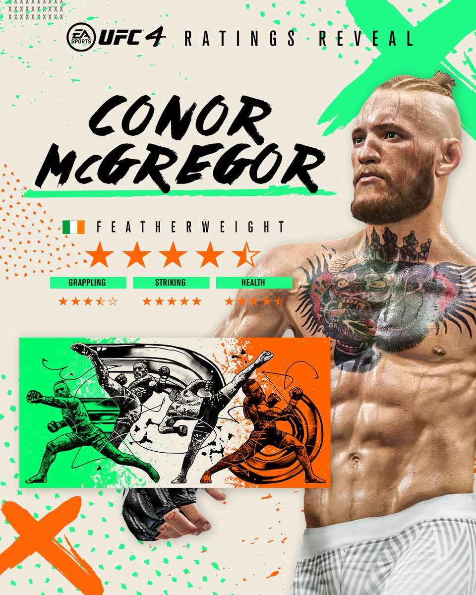 Two latest additions in #UFC4 👀  Fight with Legacy Conor McGregor and Jiri Prochazka now 🔥👇