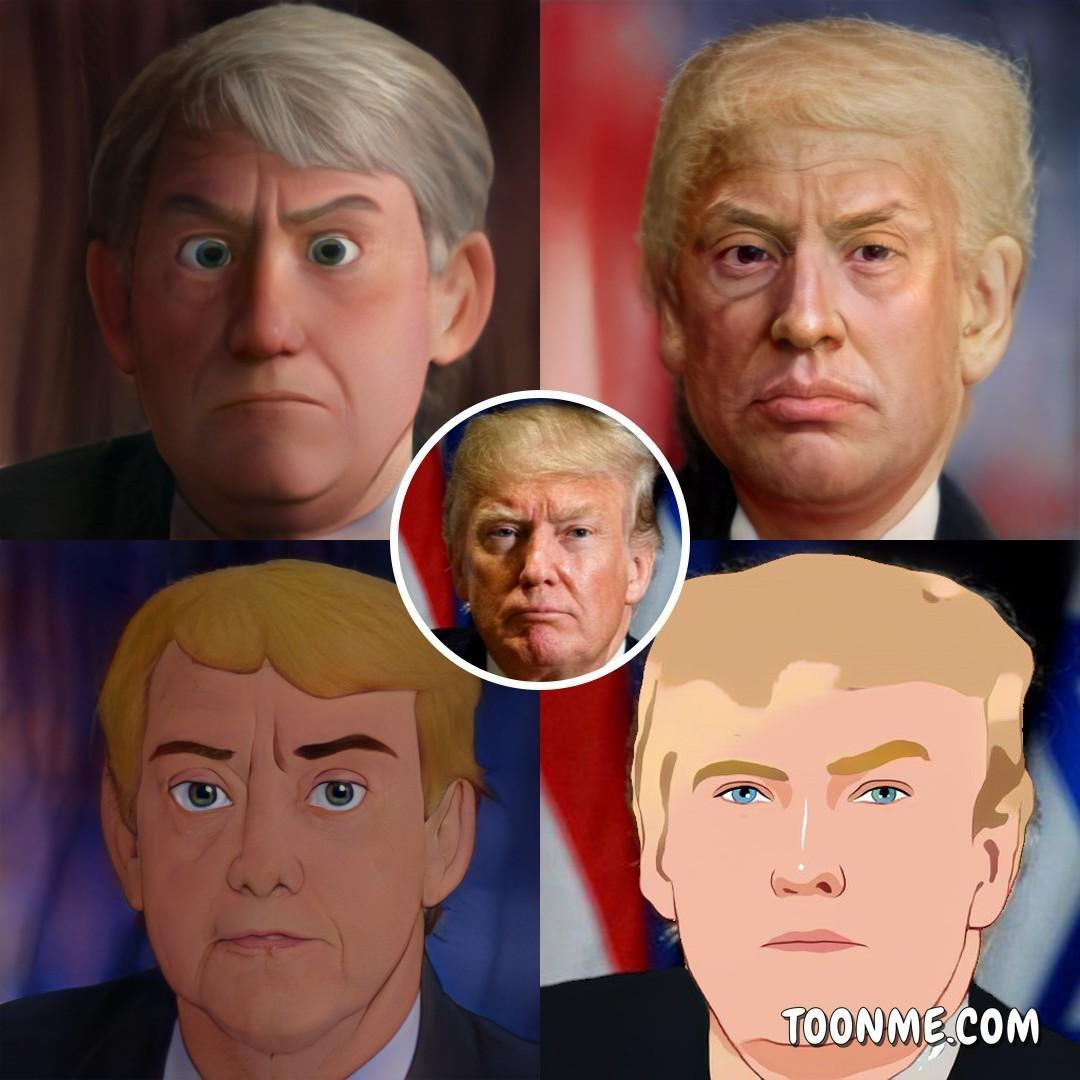 What if.. We make cartoon of Trump. #AmericaOrTrump #Doneltrumpcartoon #cartoon #Trumpcartoon #expresident #followformore #Likee