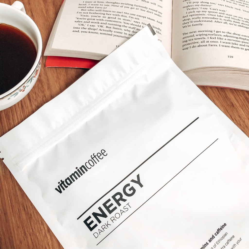 Focus & Energy ⚡️ Extra Caffeine ⚡️ All Your Vitamins ⚡️    #vitamincoffee #coffee #vitamin #vitamins #health #healthy #coffeelover #artisan #vegetarian #glutenfree #coffeeaddict #coffeeneeded #londoncoffee #coffeelife #fitness #gym #gymlife #preworkout