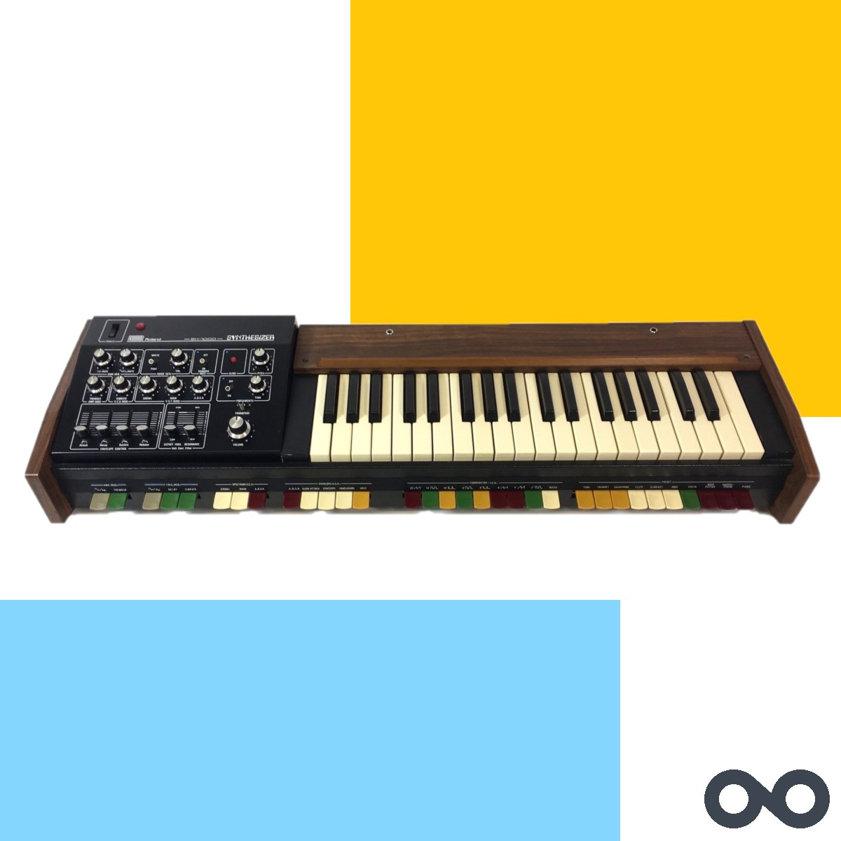 #ThrowbackThursday Back to 1973 this week with Roland's first ever synth, the SH-1000! Thoughts on this one?