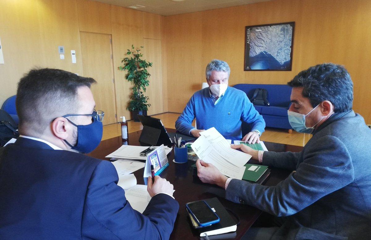 ⚠️El Comité Territorial de Alertas de Salud Pública de Alto Impacto de #Almería se ha reunido este jueves mediante vía telemática y ha aprobado aumentar el cierre perimetral a partir del próximo sábado en 57 municipios de la provincia @saludand  @juanbelmena
