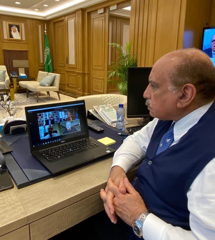 #بروكسل   تابع معالي السفير @KhalidJindan عبر الاتصال المرئي، في مقر السفارة بعد ظهر اليوم، وقائع الندوة التي نظمها كل من معهد @EgmontInstitute و @gmfus حول (العلاقات الأمريكية(US) الأوروبية (EU) لعام 2021 ومابعده - وما يمكن توقعه من إدارة الرئيس بايدن) .