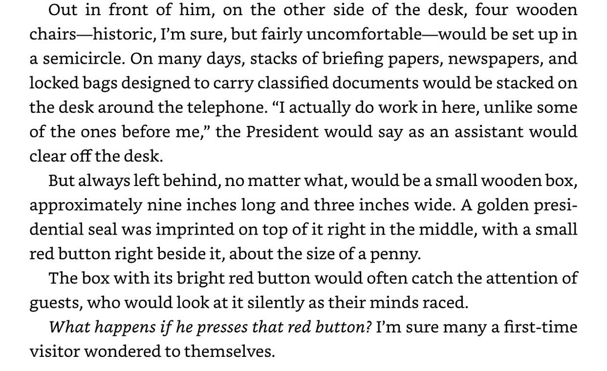 Replying to @ColumbiaBugle: Funny Story about Trump's Diet Coke button from Cliff Sims' book Team of Vipers: