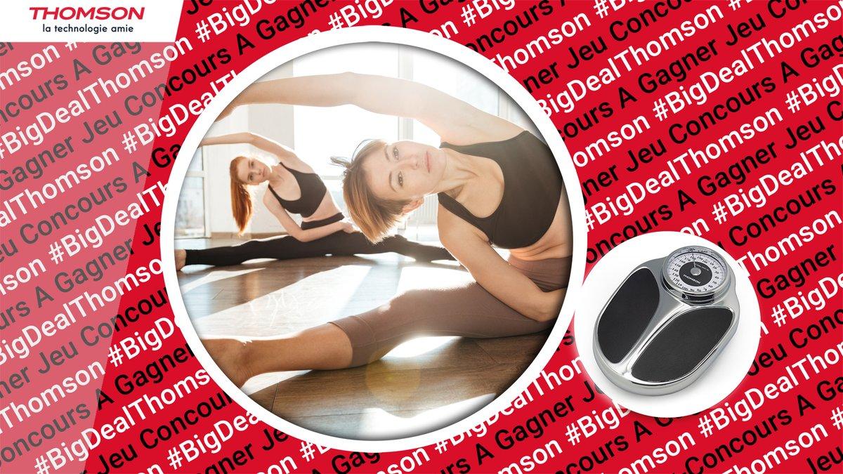 Pour vous aider à prendre soin de vous, tentez de gagner un pèse personne mécanique Trad MASS #Thomson au design #Vintage !😀  1⃣ Abonnez-vous à @Thomson_FRA 😎 2⃣ RT ce jeu 🔃 3⃣ Quel sport aimez-vous pratiquer le plus souvent❓  🍀🎁 #BigDealThomson #ThomsonSanté 🎁🍀
