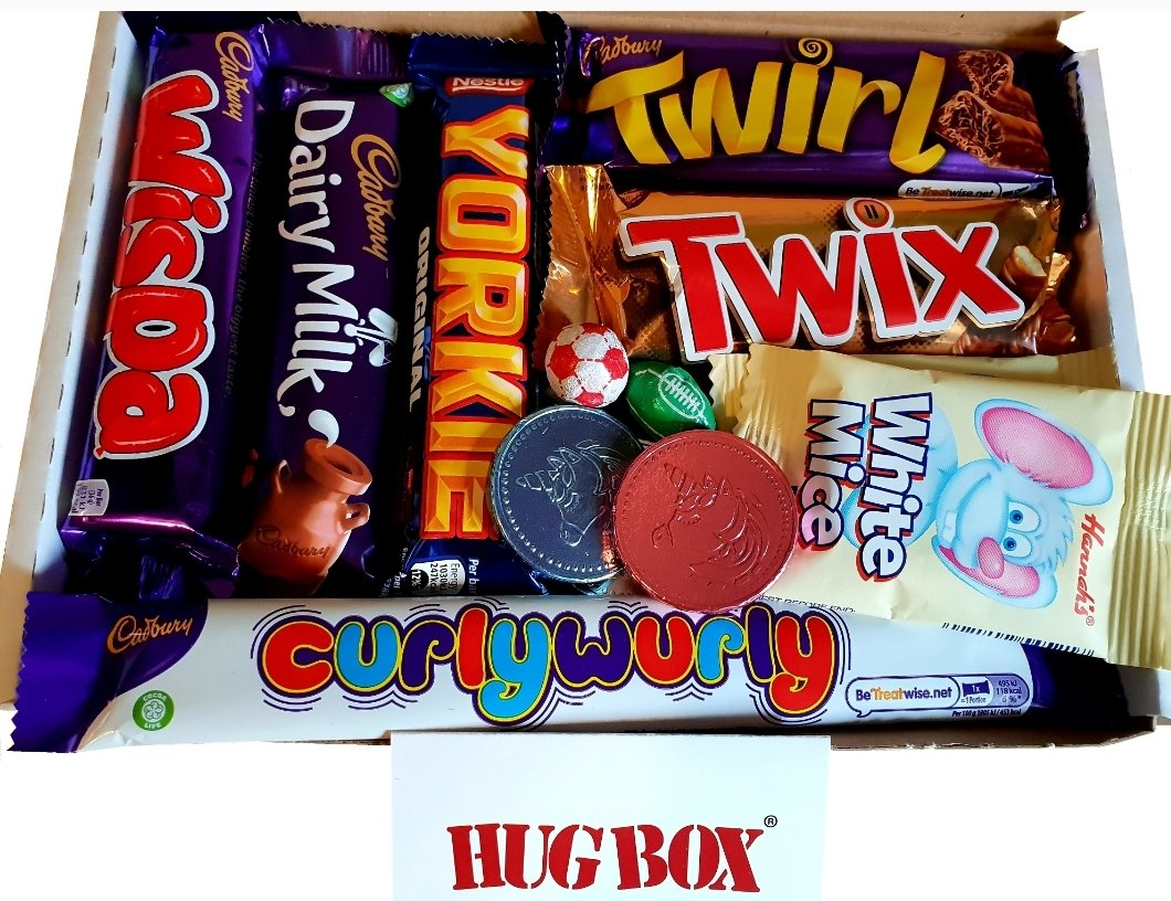 Make someone special smile with a CHOCOLATE Letterbox Hug Box❤   #Love #Hug #BeKind #thanks #thinkingofyou #congratulations #GetWell #welldone #TakeCare #birthday #MissYou #Free #Message #Gift #Chocolate #treatyourself #family #hero #care #smile #valentine