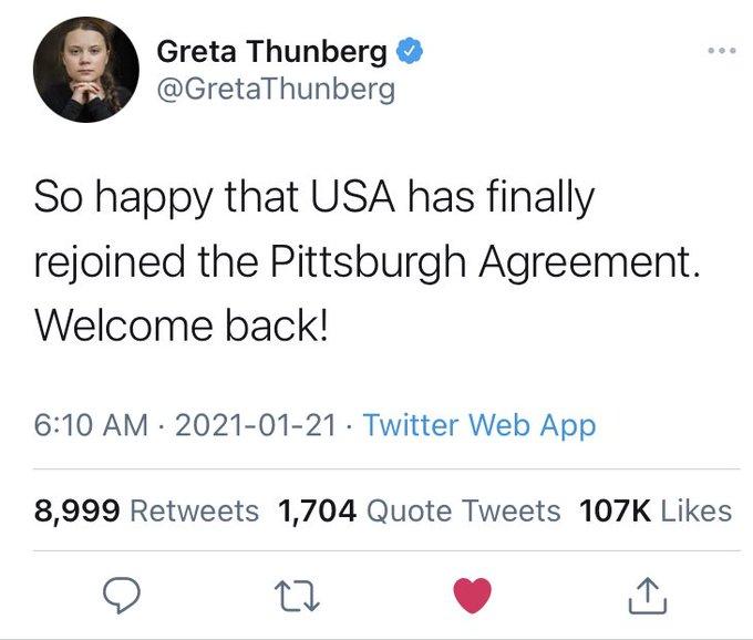 Ted and Greta more like Son of JFK Killer versus TEDtalks Climate