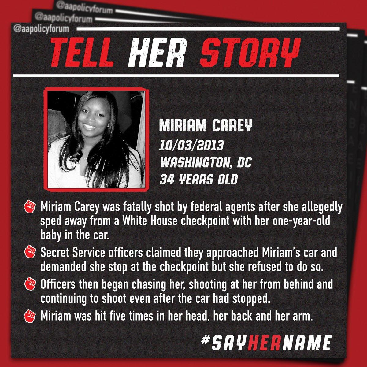 #UnderTheBlacklight uplifting Miriam Carey. #SayHerName.