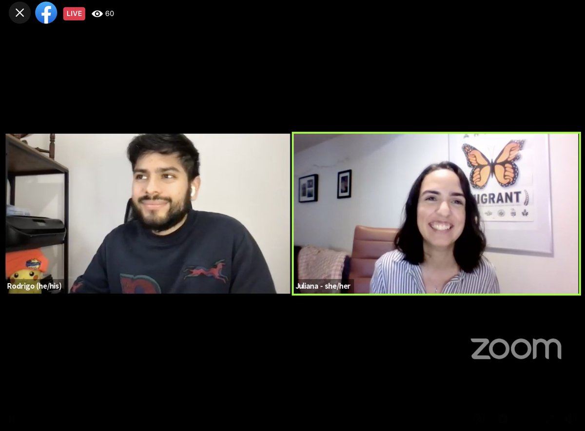 🔴LIVE NOW:  We've had many immigration victories in the past 24 hours! Juliana and Rodrigo are here to answer your questions about Biden's new immigration plans.   🖥️Join here