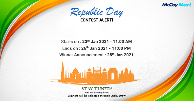 #ContestAlert! McCoy Mart is here with the first contest of the year 2021.    #McCoyMart #McCoyMartContest #Contest #ContestPlay #RepublicDayConstest