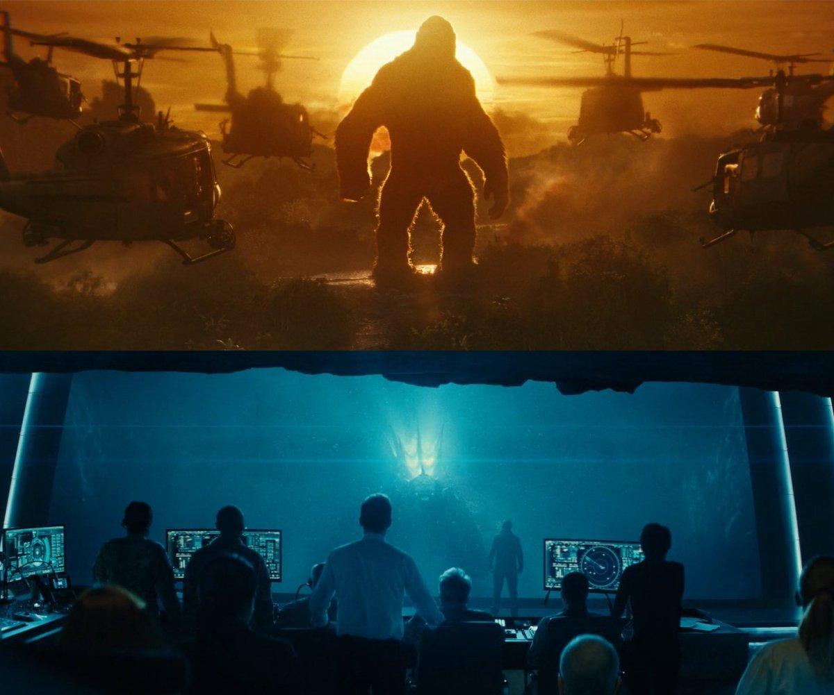 #GodzillavsKong LET THEM FIGHT