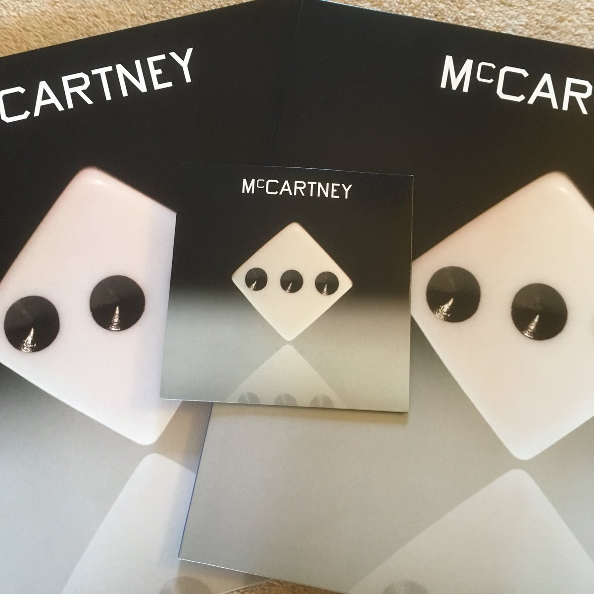 My CD (demo version) of #McCartneyIII finally came in the post.  Never gonna actually listen to it, but it's a nice addition to the collection.  #PaulMcCartney #PaulMcCartneyPodcast #vinyl #CD