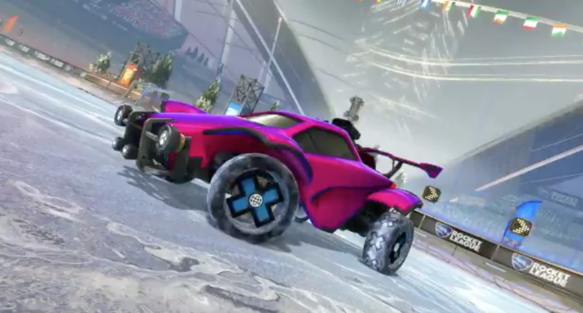 X Games in Rocket League is here! Equip your favorite @XGames item(s) and hop into a match with a friend.