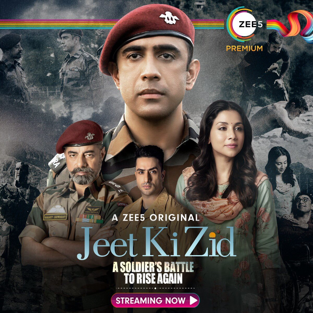The true story of a living legend whose willpower redefined impossible. #JeetKiZid is Streaming Now    @theamitsadh #AmritaPuri @freshlimefilms @boneykapoor @BayViewProjOffl @akash77 @JoyArunava @sushant_says @AlyGoni @vish2vish @ZEE5Premium