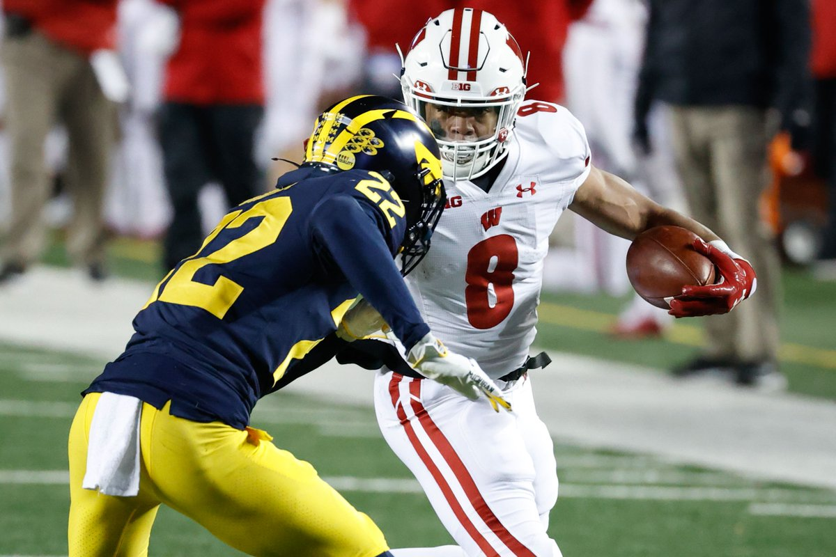 Jalen Berger is back after accounting for more 10+ yard rushes than the rest of the Wisconsin running back room combined. But no Groshek/Watson means carries are available in 2021 for others.   Wisconsin football 2020 review/2021 preview: running  back