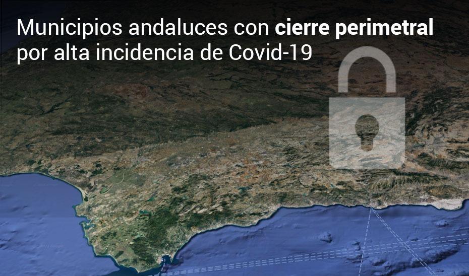 📈😷 Municipios de #Andalucía con alta incidencia de #COVIDー19:  🔴 Tasa entre 500 y 1.000 casos/100.000 habitantes: cierre perimetral 🔴 Tasa superior 1.000 casos/100.000 habitantes: cierre perimetral y cierre de hostelería y comercio no esencial  👉 https://t.co/GDo4pxVDvt ✅ https://t.co/WaD5vpfaqw